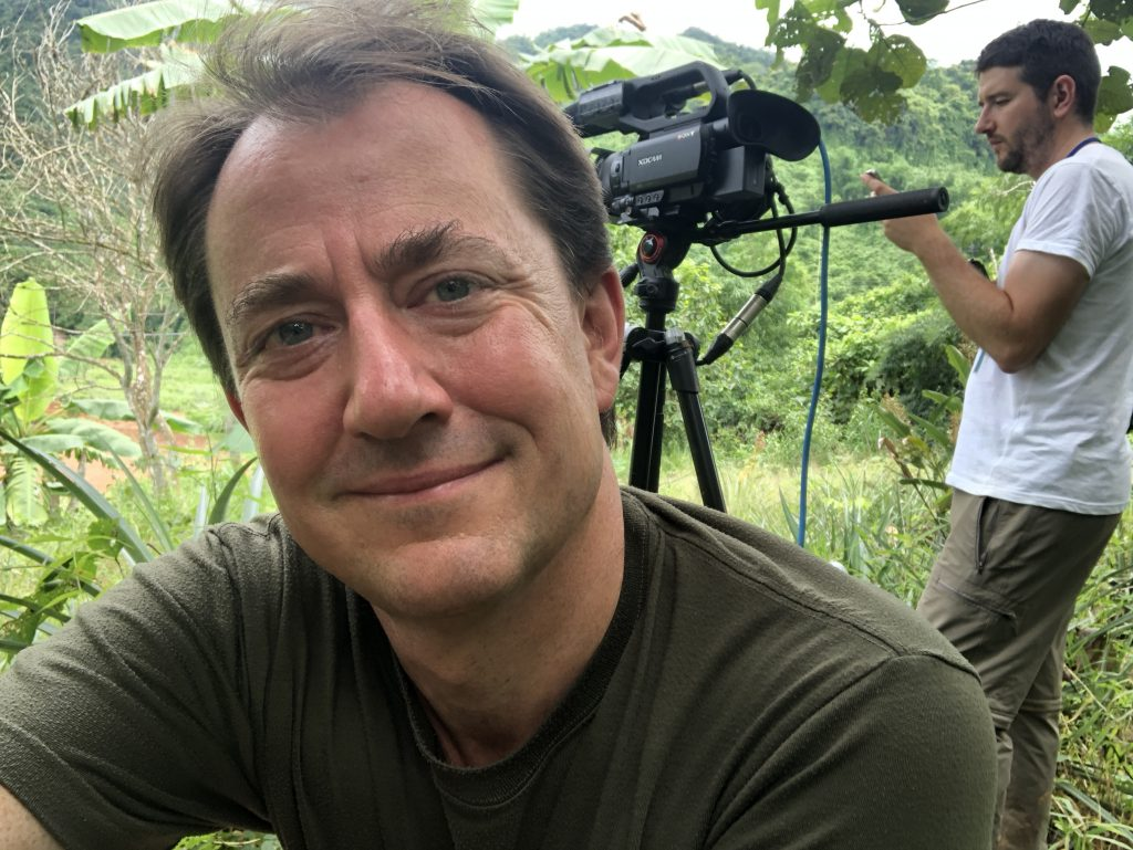ITV News correspondent Richard Gaisford