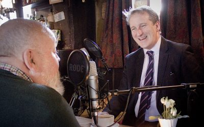 Down the Pub with Tim Concannon and Damian Hinds MP