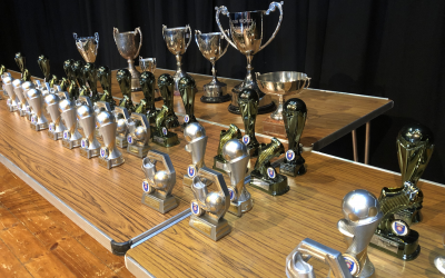 Town's successful junior football club holds annual presentation day