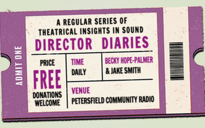 Director diaries: Becky Hope-Palmer on The Comedy of Errors