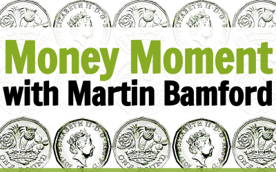 Stamp prices, plastic money and the true price of renting. It's Martin Bamford's Money Moment