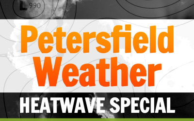 Petersfield weather: Heatwave special with Richard Marks