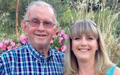 Louise campaigns in memory of her father
