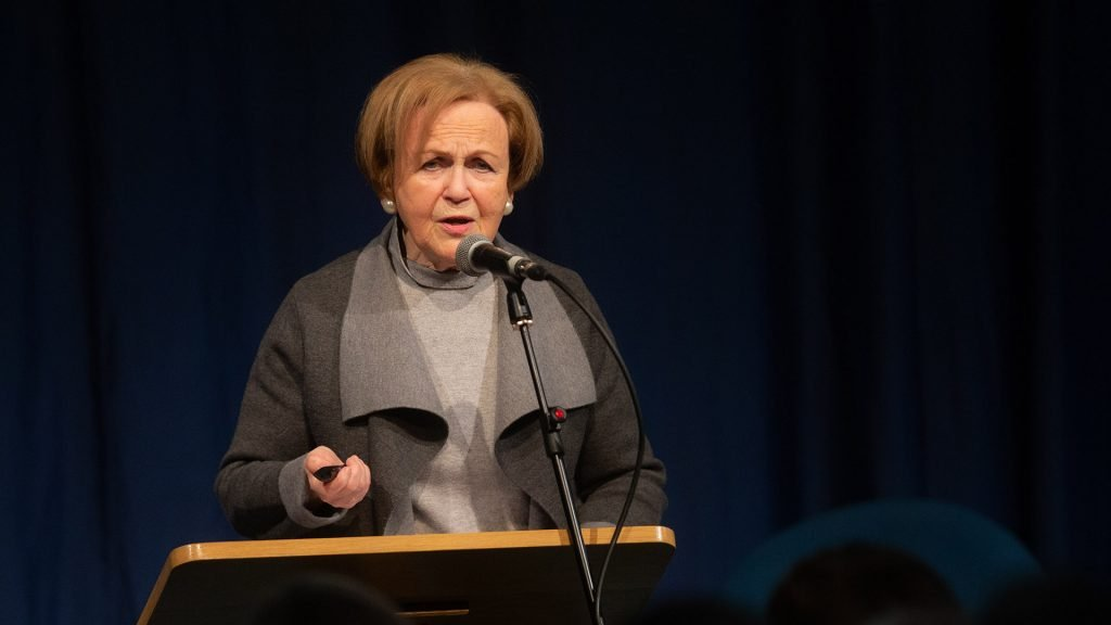 Mala Tribich, MBE. Holocaust survivor.