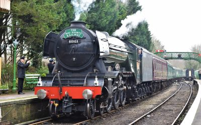 Flying Scotsman steams into East Hampshire
