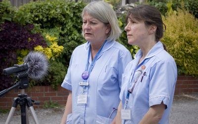 Life on the frontline with Rosemary Foundation nurses