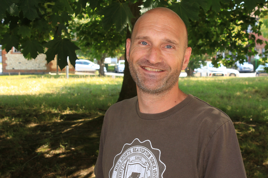 Dave West manages the Taro Centre for Everyone Active and EHDC.