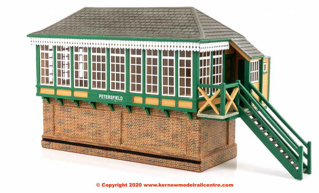 Petersfield Signal Box in miniature