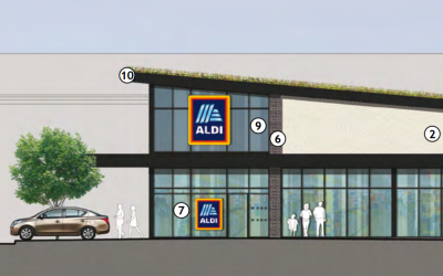 Residents are concerned a new Aldi store will increase traffic