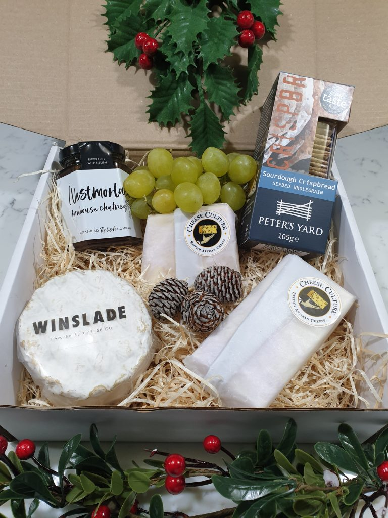 Cchristmas cheese box